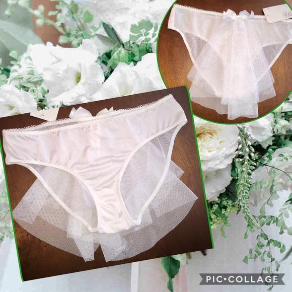 e8c5a72f457b12 Gilligan & O'Malley Intimates & Sleepwear   Nwt White Bride Bikini ...